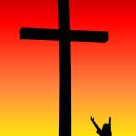 cruz y persona