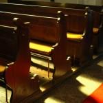 bancas de iglesia